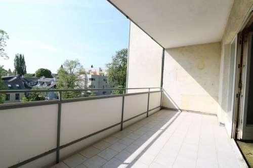Sanierungsbedürftige 4-Zimmer-Wohnung mit Süd-Loggia und Einzelgarage in Zentrumsnähe/12
