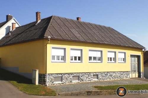 Oberwart Nähe (4km): Sofort beziehbares Wohnhaus mit Nebengebäuden