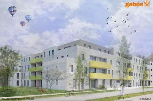 28 geförderte Genossenschaftswohnungen mit Freiflächen