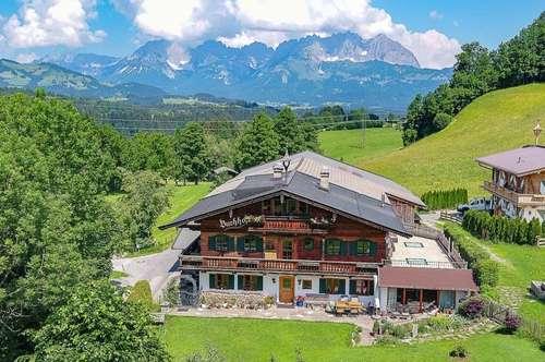 Bauernhaus in einer der besten Lagen von Kitzbühel
