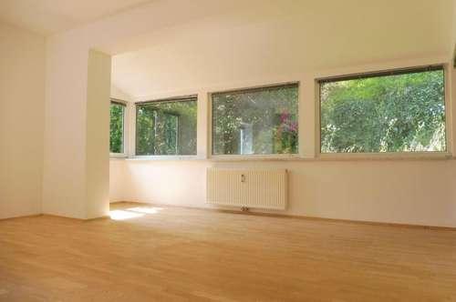 Helle 3-Zimmer-Wohnung mit großem Eigengarten und wunderschönen Blick ins Grüne