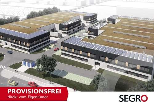 ERSTBEZUG: SEGRO CityPark Wien - Innerstädtische Büro- und Hallenflächen provisionsfrei vom Eigentümer!