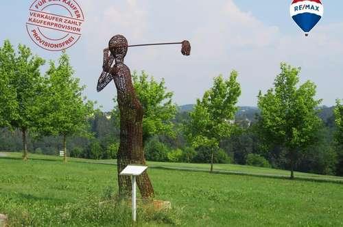 PROVISIONSFREI FÜR DEN KÄUFER  Vierkanter am Golfplatz