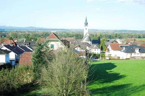 Neubau Anthering! 2-Zi.-Whg mit Dachterrasse und Panoramablick!