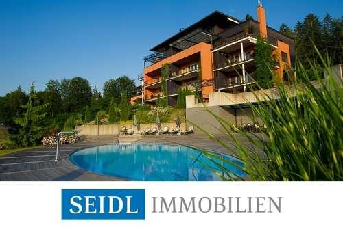Exklusive Wohnung mit Seeblick und großzügigem Strandbereich in den Parkvillen
