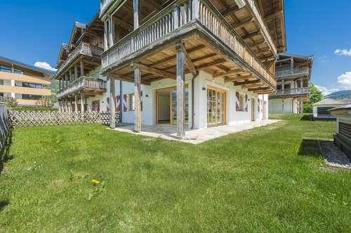 Luxuriöse Gartenwohnung in ruhiger Lage von Kirchberg