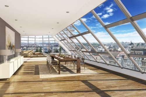 Vier-Zimmer-Dachterrassenwohnung nahe Stadtpark, Erstbezug - Kauf 1030 Wien