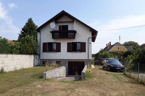 Nähe Oberpullendorf: Einfamilienhaus mit 1300 m² Grund