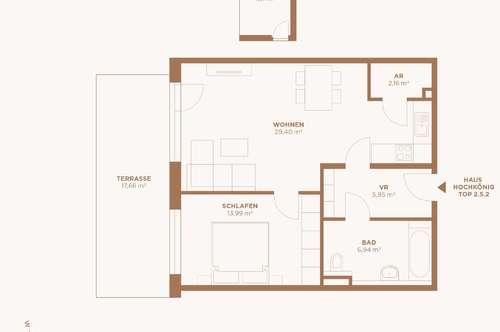 Start ins neue Leben! 2-Zimmerwohnung in St. Johann!