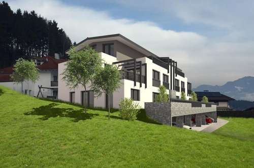 PROJEKTVORANKÜNDIGUNG Exklusive Terrassenwohnung in Wiesing - PROVISIONSFREI