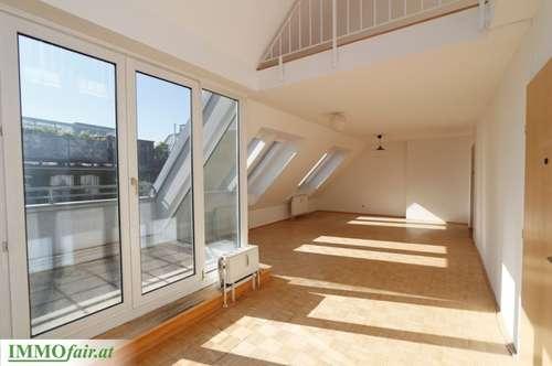 Großzügige Dachgeschoss-Maisonette in Hofruhelage, 5 Zimmer mit Galerie und Terrasse - Top 15 - 151m²- 6m²- 499.000,-