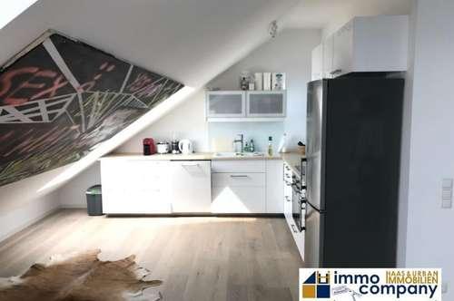 Dachgeschoss-Maisonette in Innenhof Lage