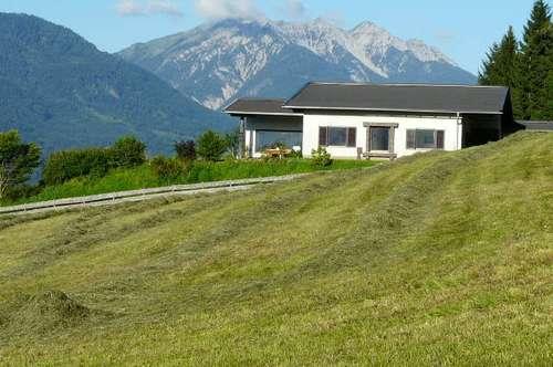 Freistehende Einfamilien-Villa in ruhiger Panorama-Aussichtslage über dem Drautal, Wohnfläche 200 qm, Grundstück 3.750 qm