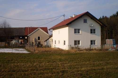 Einfamilienhaus in ruhiger, ländlicher Lage