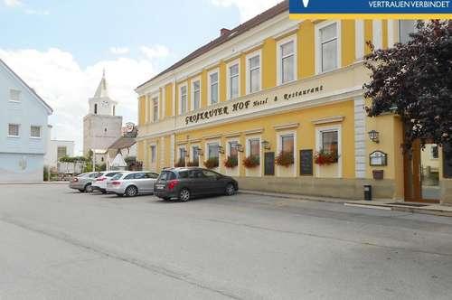 Traditioneller Gasthof und Hotelbetrieb mit 18 Komfortzimmern