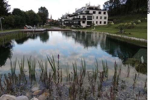 Klosterneuburg NIEDERENERGIEANLAGE 13.000m2 Park, 350m2 Schwimmteich, nur 27 Wohneinheiten, 151m2 plus 40m2 Terrassen, plus 599m2 Eigengarten, 2 Garagenplätze,