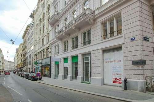Gut sichtbares Geschäft in Frequenzlage der Wipplingerstraße in 1010 Wien zu mieten