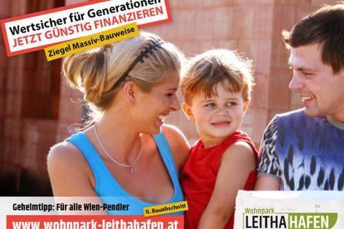 Haus 28! Doppelhaushälfte im Wohnpark Leithahafen! -wpls
