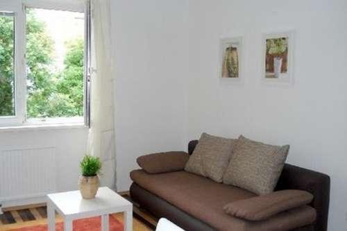 Grünblick und Hofruhelage: bezauberndes Apartment mit 2 Zimmern in Bestlage Nähe Mariahilferstraße (Fußgängerzone), U3-Zieglergasse, Westbahnhof!