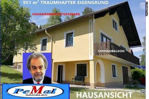 *RARITÄT in 3911 RAPPOTTENSTEIN mit BLICK zur BURG RAPPOTTENSTEIN /PANORAMAFERNSICHT grosszügiges EINFAMILIENHAUS WNFL: 226 m² (EG+1.STOCK)+ DACHGESCHOSS +SONNENTERRASSE +SONNENBALKON +2 GARAGEN TOPZUSTAND Sofortbezug 951 m² EIGENGRUND HBJ 1970 /HWSF