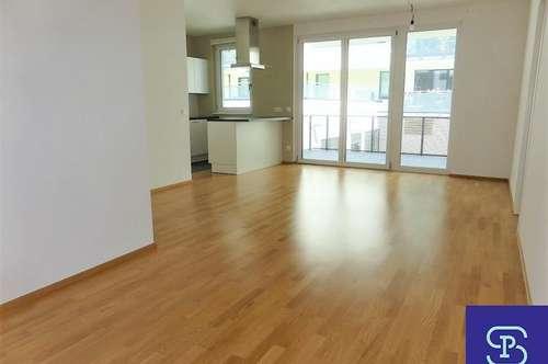 Gartenseitiger 57m² Neubau + 10m² Balkon mit Einbauküche - 1030 Wien