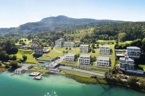 WÖRTHERSEE: Exklusive Wohnungen im Luxus-Resort!