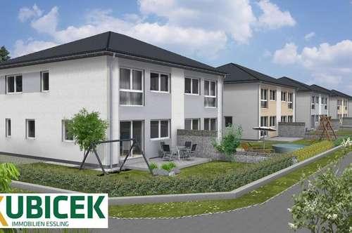 Modernes Familien-Doppelhaus mit Garten in Helmahof, Deutsch-Wagram