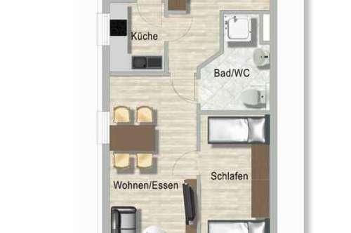 Erdgeschosswohnung mit Terrasse in Seniorenresidenz, Randlage Salzburg