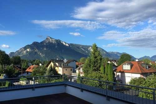 PENTHOUSEWOHNUNG LEOPOLDSKRON - Wundervoller Ausblick über den Dächern von Salzburg