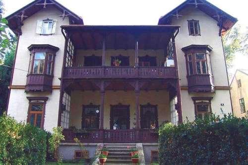 Märchenhafte denkmalgeschützte Zinsvilla in Purkersdorf
