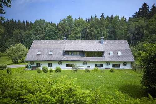 Natur pur - Traumhaftes Landhaus mit Fischteich