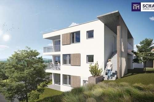 JETZT ZUGREIFEN: Kleinwohnung, ideal aufgeteilt mit 2 Zimmer + Terrasse + Grandiosen Ausblick + Photovoltaik inkl. in 8075 Hart bei Graz! TOP Vermietbarkeit garantiert!