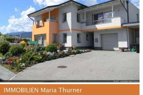 4-Zimmer-Wohnung, ca. 180 m² Garten, 2-Carport-Stellplätze, beheizter Keller für Sauna etc..