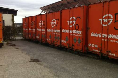 Container für Lagerzwecke