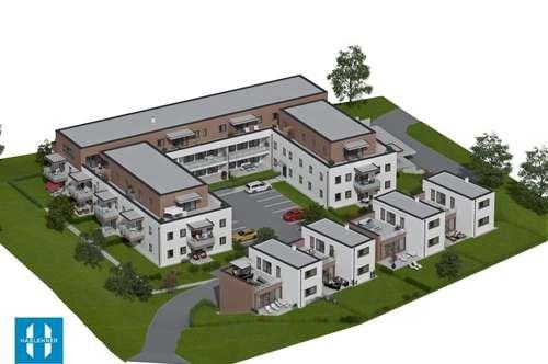 VERKAUFSSTART - Wohnen für Generationen zwei - 28 moderne Eigentumswohnungen und 4 Doppelhauseinheiten - HINZENBACH/EFERDING