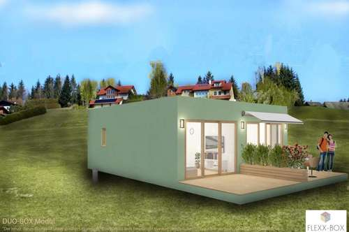 Duo Flexx Box - Die mobile Immobilie incl. Grundstück