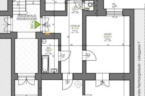 PROVISIONSFREI FÜR DEN MIETER! Generalsanierte 3 Zimmer Wohnung, direkt bei der KF-Universität!