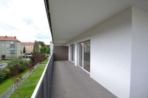 Geidorf - 51m² - 3 Zimmer - großer Balkon - WG fähig - inkl. TG-Platz