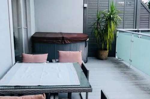 Vollmöblierte Luxuswohnung mit Whirlpool + Garten in Graz