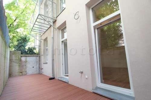 Hofruhelage - entzückende 2-Zimmer-Wohnung mit ~17m2 hofseitiger Terrasse, Nähe Hanusch-Krankenhaus