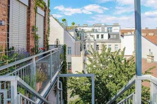 4-Zimmer Dachgeschoßwohnung mit Loft-Flair und Terrassentraum zu kaufen in 1160 Wien -Nähe Burggasse