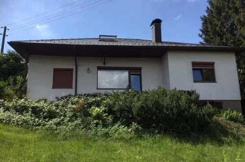 Einfamilienhaus in Forchtenstein mit herrlichem Fernblick - oberhalb der Burg