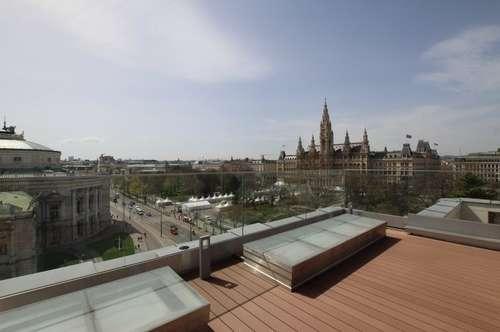 Einzigartige Maisonette-Wohnung mit Blick auf das Rathaus in 1010 Wien zu mieten - 360° Rundgang