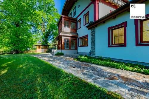 3-Zimmer Gartenwohnung mit Badeplatz am Mondsee