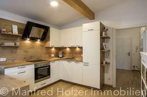 Bezaubernde 2 Zi-Dachwohnung - Qualität die man spürt!