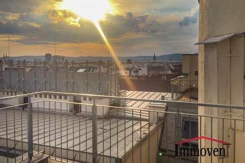 Wohnung mit Dachterrasse - Die wahrscheinlich schönste Überraschung auf Ihrer Wohnungssuche