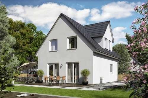 Kaufen statt mieten, € 569,- mtl*, Town & Country, Ziegel-Massiv Haus, Raumwunder 114 ohne Grundstück,