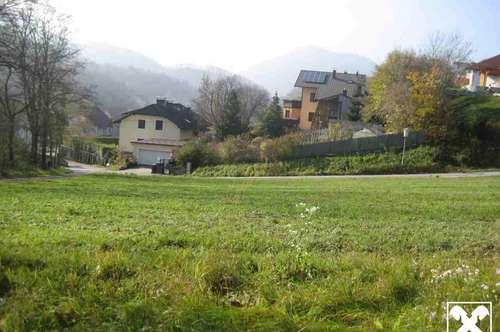 Großes Baugrundstück in der Wachau, kein Hochwasser!