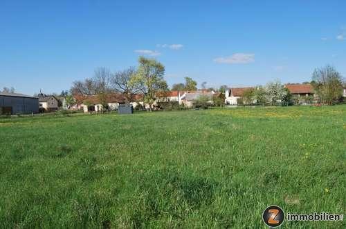 Nähe Großpetersdorf: Schöner, günstiger Baugrund mit Hausgärten