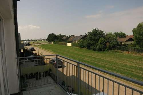 Lichtdurchflutete Balkonwohnung in grüner und ruhiger Lage in Gerasdorf
